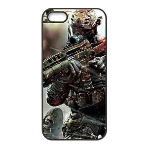 Call Of Duty 4 SOLDADO funda iPhone 4s funda caja del teléfono celular cubren negro, el funda iPhone 4 4s casos Funda negro