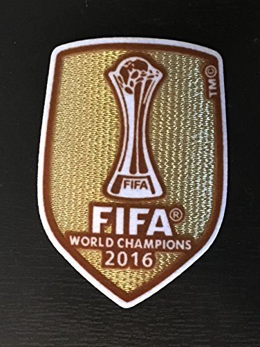 FIFA WORLD CLUB CUP REAL MADRID WINNERS JAPAN 2016 PATCH PARCHE BADGE