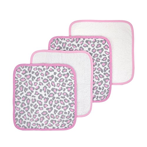 Just Born Welcome Washcloth Leopard product image