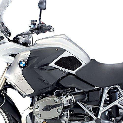 Protezione laterale serbatoio per BMW R 1200 GS 04-12 Motea Grip SP nero