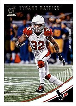 Amazon.com  Tyrann Mathieu 2018 Donruss Football 48 Card Lot Houston ... d58092cea