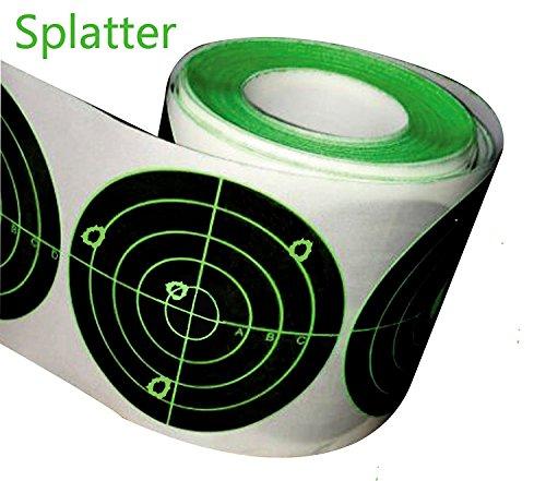 Splatter Target Stickers 250pcs Adhesive