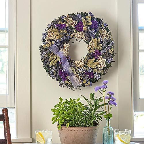 Lavender Fields Dried Wreath
