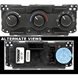 APDTY 600258 Climate Control Module Dashboard AC Heat Control Head