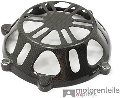 Carbon brillante embrague Tapa abierta Ducati 749 999 848 1098 1198