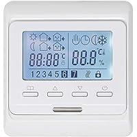 KETOTEK Termostato Programable de Calefacción Electrico para Suelo