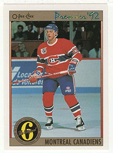 Premier Cotes - Alain Cote - Montreal Canadiens All Time Playoff Scorers (Hockey Card) 1991-92 O-Pee-Chee Premier # 188 NM/MT