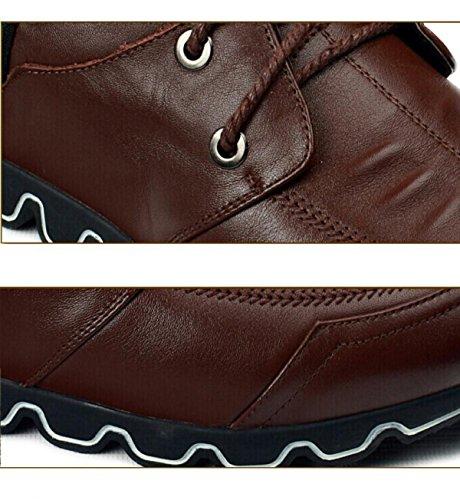 Les Chaussures Pour Hommes Les Sport Pour De Plein Brown De Printemps Hommes GRRONG Air Et wvqdT7xnAH