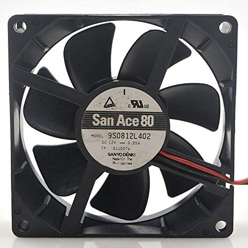 For Sanyo 9S0812L402 9CM 9025 12V 0.05A Cooling Fan
