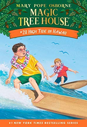 Magic Tree House Books 25 - 28: Stage Fright on a Summer Night; Good Morning, Gorillas; Thanksgiving on Thursday; and High Tide in Hawaii (Magic Tree House High Tide In Hawaii)