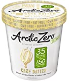Arctic Zero Creamy Pint, Cake Batter, 16 Ounce (Pack of 6)
