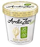 Arctic Zero Creamy Pint, Cake Batter, 16 Ounce (Pack of 6) offers
