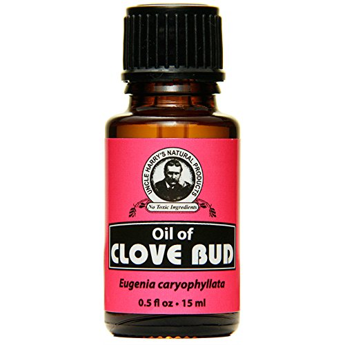 Uncle Harry's Natural Clove Bud Oil (0.5 fl oz)