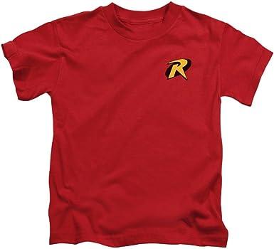 Robin niños símbolo camiseta: Amazon.es: Ropa y accesorios