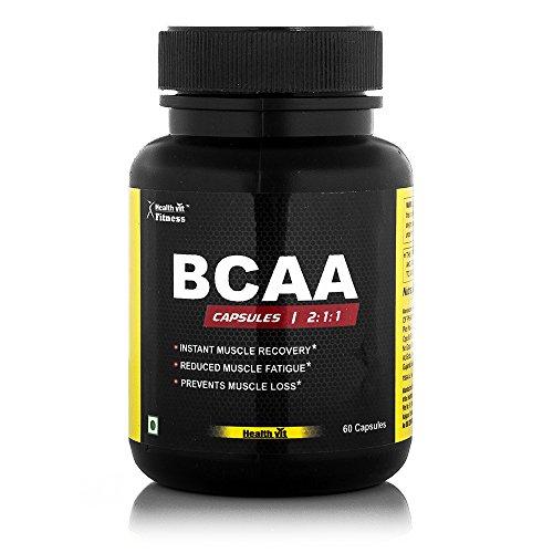 Healthvit BCAA (2:1:1) 1000mg - 60 Capsules …
