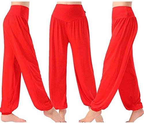 AHR - Pantalón - para mujer Rosso