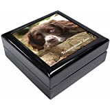 Springer Spaniel Unconditional Love Keepsake/Jewellery Box Christmas Gift by Advanta - Jewellery Boxes