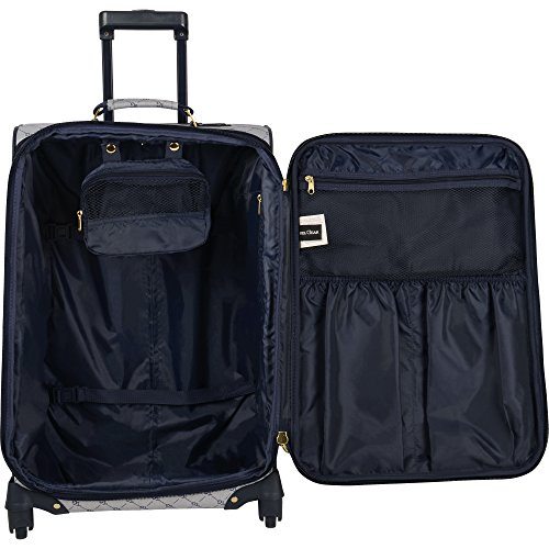 Travel Gear Signature 4 Piece Expandable Spinner Luggage Set (28In/24In/20In/26In), White/Peacoat by Travel Gear (Image #2)'