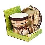 Handmade Wood Axiom Jumbo Childrens Music Percussion Pack Kids Starter Pack