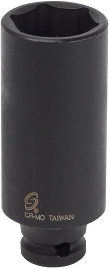 Sunex 812mdmg 1//4-Inch Drive 12-Mm Deep Magnetic Impact Socket Sunex International