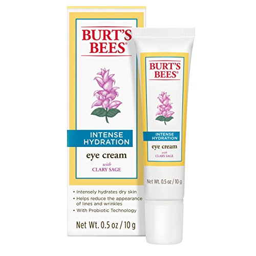Ounce Cream Moisturizing 0.5 (Burt's Bees Intense Hydration Eye Cream, Moisturizing Eye Treatment, 0.5 Ounces)