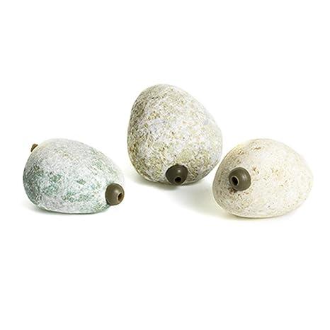 Inline Pallatrax Stonze Multi Pack Sinkers Natural Stone Fishing Weights