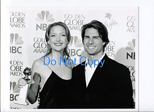 Kate Winslet Tom Cruise 58th Annual Golden Globes NBC TV Original Pres
