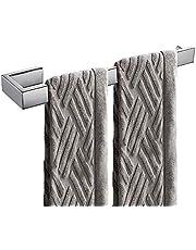 Biutimarden 35 cm naścienny wieszak na ręczniki łazienkowe chromowane wykończenie wieszak na ręczniki pierścień na ręczniki wieszak na ręczniki do kąpieli i kuchni
