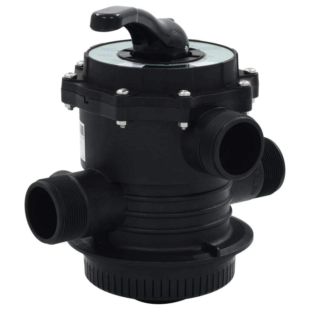 Unfade Memory Multiport Valve for Sand Filter ABS 1.5'' (Type 1) by Unfade Memory
