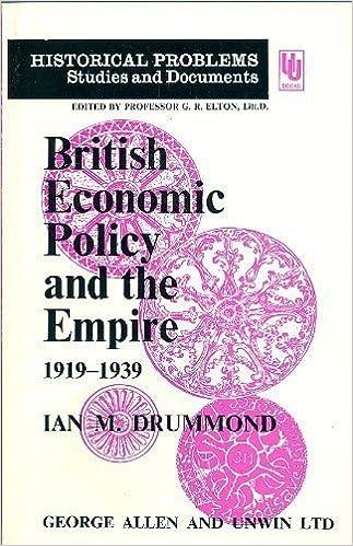 British Economic Policy and the Empire, 1919-39 (Unwin University Books)
