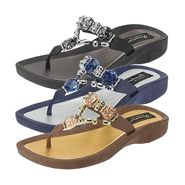 Grandco Women's Expression Thong Sandal