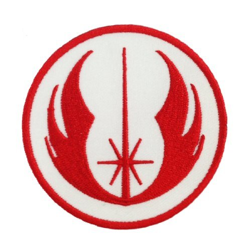 Star Wars Jedi Logo Embroidered Iron Patches]()
