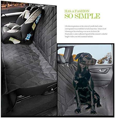 ペットシートカバー 犬のシートカバー防水ペットカーシートカバー滑り止めカーブーツプロテクターカバー (Color : One color, Size : One size)
