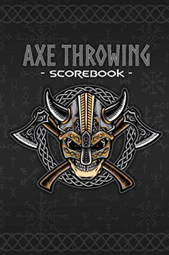 Axe Throwing Scorebook: ScoreKeeper Notebook   6x9po 132 pages   Log Book Fun & Competition Game score journal   WATL rules