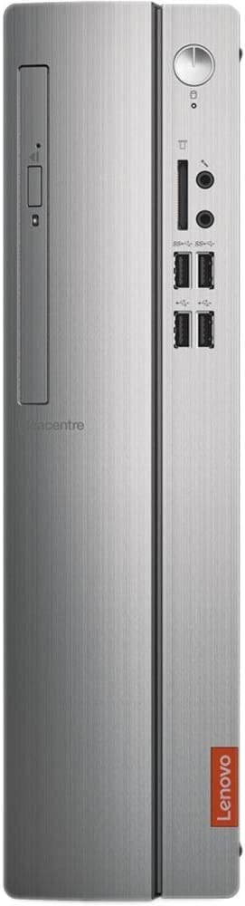 Lenovo IdeaCentre 310S-08ASR SFF 4GB 1TB AMD A6-9225 X2 2.6GHz Win10, Silver (Renewed)