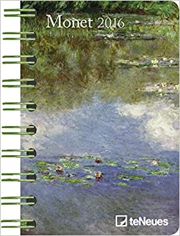 2016 claude monet deluxe pocket engagement calendar