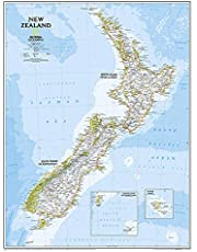 National Geographic New Zealand Classic Map