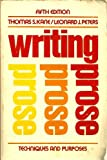 Writing Prose, Thomas S. Kane and Leonard J. Peters, 0195026713