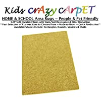 8x10 - Sunny Side up ~ Kids Crazy Carpet Home & School Area Rugs | People & Pet Friendly – R2X Stain Resistance & Odor Reduction