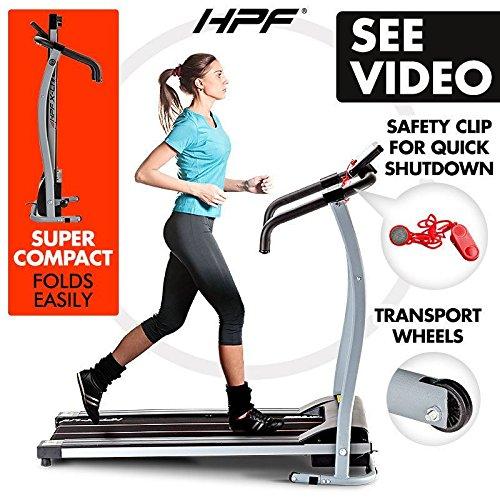 Hoist Gym Equipment Dubai: NEW HPF Electric Treadmill Exercise Equipment Machine