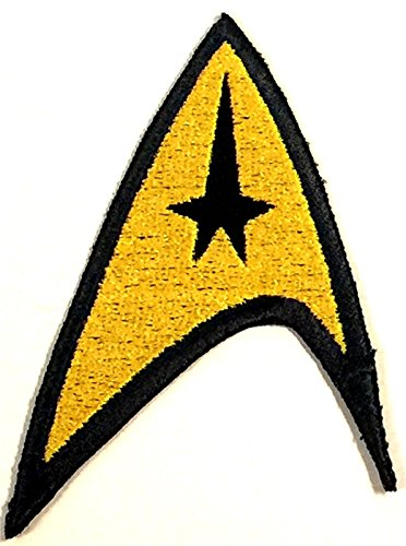 Star Trek TOS Command Enterprise Cosplay Insignia Logo Emblem Patch HEY-0164 -