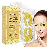 24K Gold Eye Treatment Masks - Under Eye