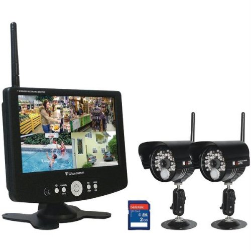 Clover 7-Inch Digital Wireless Observation System With 2 Color Cameras TW7002