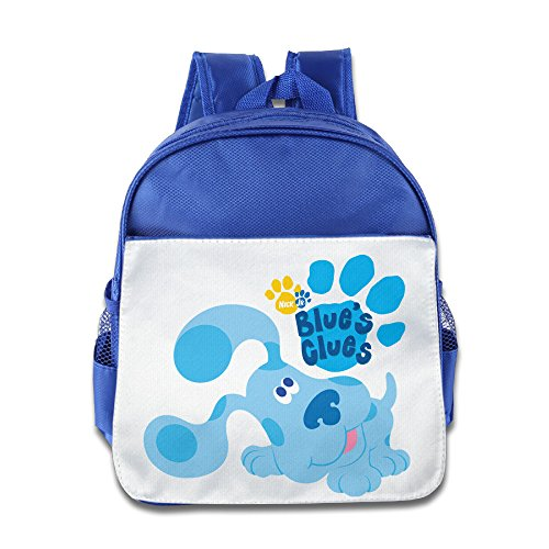 (Quasi Blue's Clues Dog Cartoon Custom Children Kids Girls Boys Baby School Bags Book Bags Backpack)