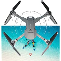 Hanbaili XT-1 Gravity Sensor Folding Aerial Drone with 720P Wide Anger Wifi Camera Real-time Transmission + Storage Package, Hand Throwing Take Off Drone with Headless Mode for Kids