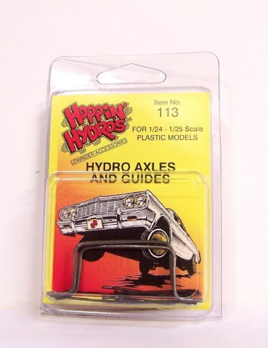 Hydro Axles and Guides U-Bar Kit (for Model Kit Hoppers Hydraulics)