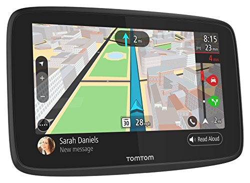 TomTom GO 520 5-Inch GPS Navigator with Wifi-Connectivity and Smartphone Messaging by TomTom