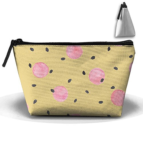 VIMUCIS Portable Printed Trapezoid Zippered Bag Cute Pattern Toiletry - Thorne Bella Shopping