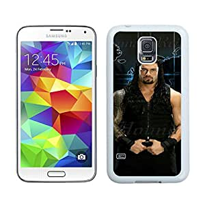 Samsung Galaxy S5 Wwe Superstars Collection Wwe 2k15 Roman Reigns 14 White Screen Cellphone Case Genuine and Popular Design