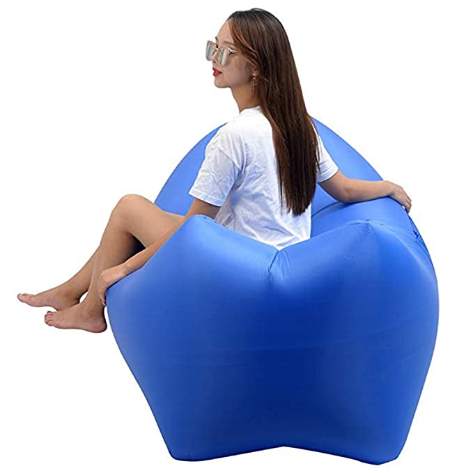 Amazon.com : FAMA Air Deck Chair, Portable Air Sofa ...